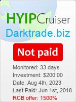 Dark Trade Details